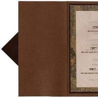 Stationery, green, brown, Invitations, Inprint, Beige
