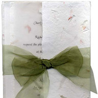 Stationery, green, Invitations, Inprint
