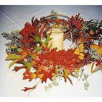 Flowers & Decor, orange, red, gold, Fall, Flowers, Fall Wedding Flowers & Decor, Cattails