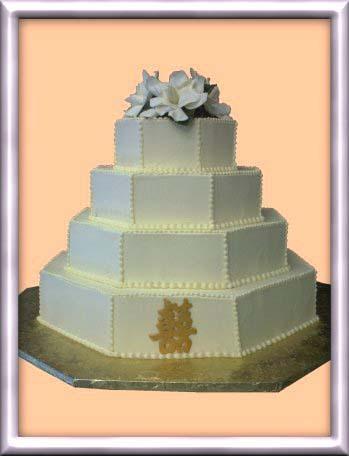 Cakes, cake, Double happiness, Margarets french bakery, Monagram