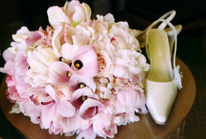 Flowers & Decor, white, pink, Bride Bouquets, Flowers, Bouquet, Water lily pond