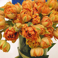 Flowers & Decor, orange, Centerpieces, Flowers, Centerpiece, Tulips, Wiggy flowers
