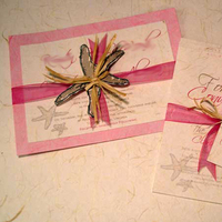 Stationery, pink, Invitations, Mine by design