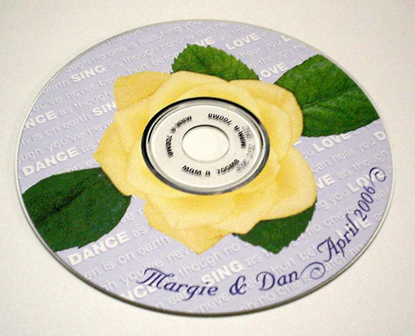 Favors & Gifts, Stationery, yellow, Favors, Invitations, Mine by design, Cd