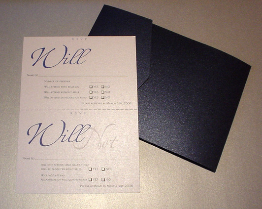 Stationery, blue, black, Invitations, Mine by design