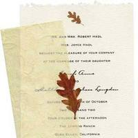 Stationery, Fall, Invitations, Inprint