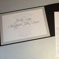 Stationery, white, black, Invitations, Mine by design