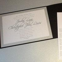 Stationery, white, black, Invitations, Mine by design