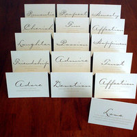 Stationery, Table Numbers, Mine by design, Table number