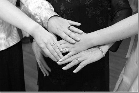 Rings, Hands, Brides