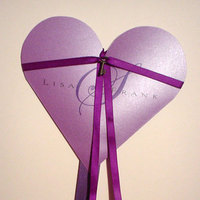 Favors & Gifts, purple, Favors, Program, Mine by design, Fan