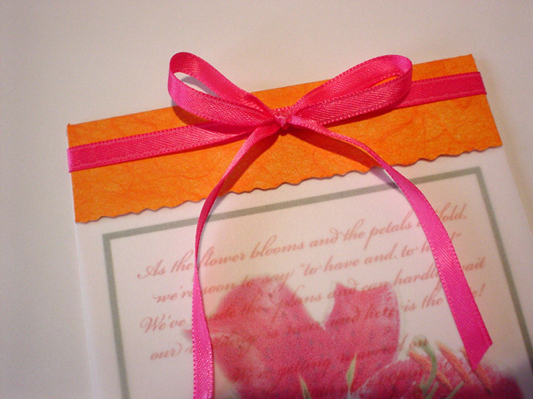 Stationery, orange, pink, Invitations, Mine by design