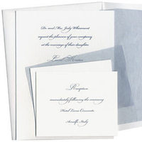 Stationery, blue, Invitations, Inprint