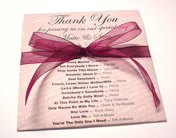 Favors & Gifts, red, Favors, Mine by design, Cd