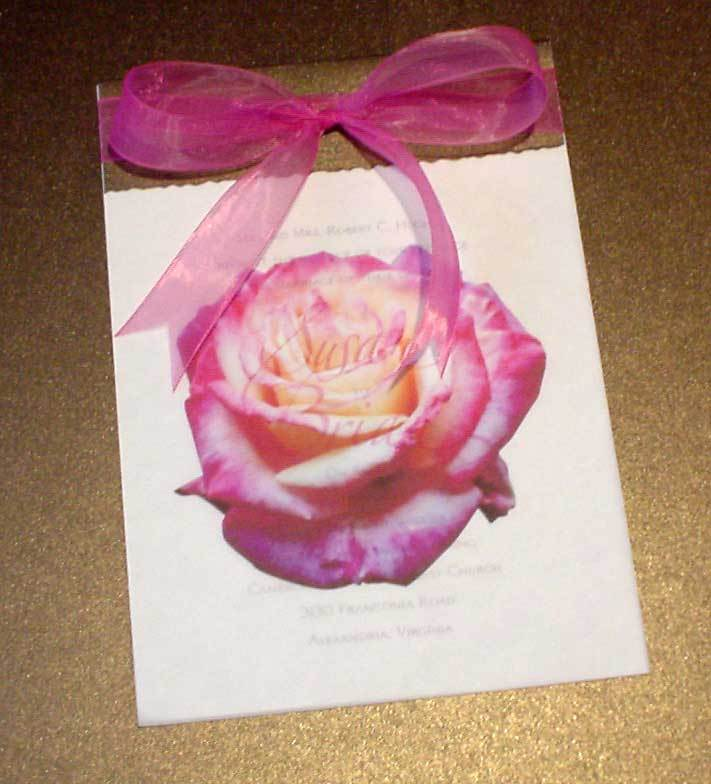 Stationery, pink, Invitations, Rose, Mine by design