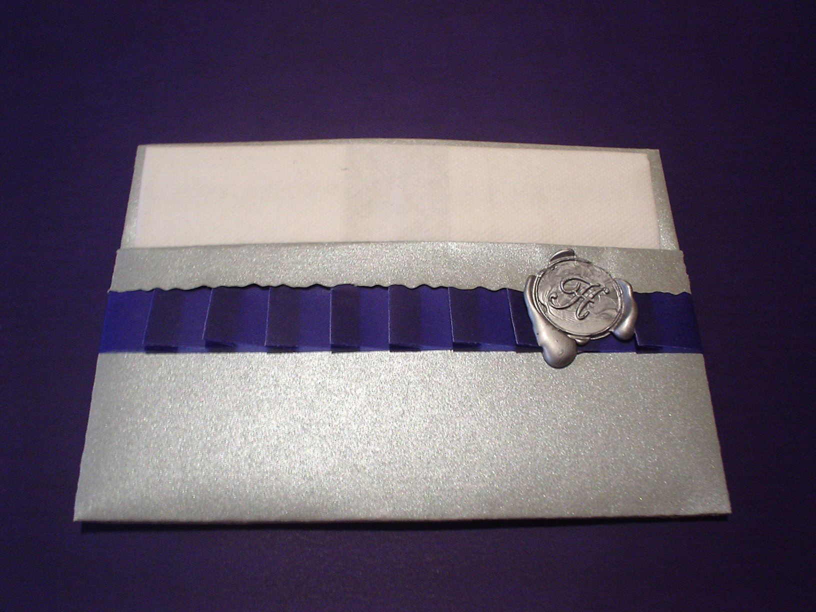 Stationery, blue, silver, Invitations, Mine by design