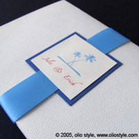 Stationery, blue, Invitations, Oliostyle