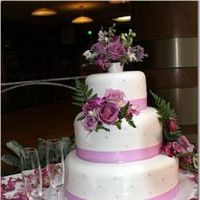 Flowers & Decor, Cakes, purple, cake, Flowers