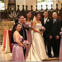 Ceremony, Flowers & Decor, Bridesmaids, Bridesmaids Dresses, Wedding Dresses, Fashion, purple, dress, Ceremony Flowers, Bridesmaid Bouquets, Flowers, Flower Wedding Dresses