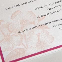 Stationery, pink, Invitations, Oliostyle