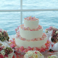 Flowers & Decor, Cakes, white, pink, cake, Bride Bouquets, Flowers, Bouquet, Branching out cakes