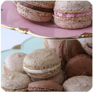 Favors & Gifts, brown, Favors, Dessert, Miette, Macaroons
