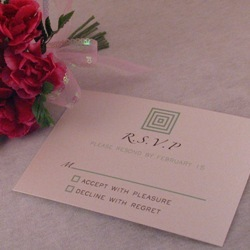Stationery, green, Square, Invitations, Oliostyle