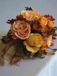Flowers & Decor, orange, brown, Flowers, Nancy liu chin
