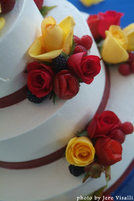 Cakes, yellow, red, cake, Branching out cakes
