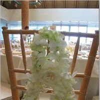 Reception, Flowers & Decor, white, Flowers, Chair