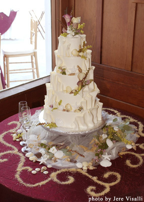 Cakes, cake, Beach, Beach Wedding Cakes, Branching out cakes