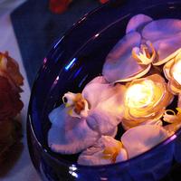 Reception, Flowers & Decor, blue, Centerpieces, Flowers