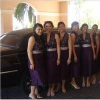 purple, Bridemaids