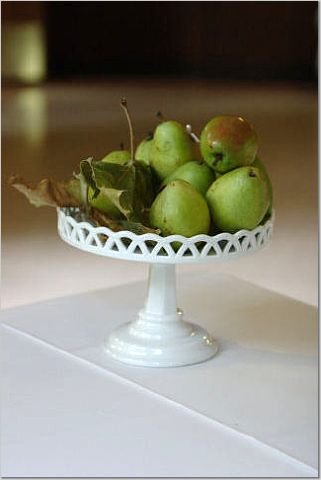 green, Centerpiece, Pear