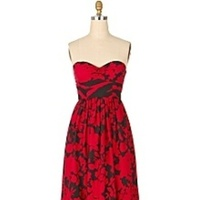Bridesmaids, Bridesmaids Dresses, Fashion, red, black