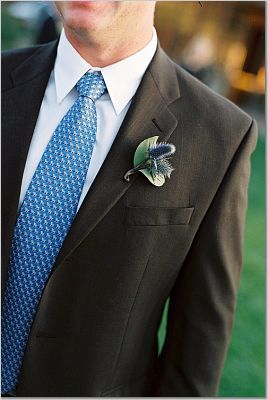 Flowers & Decor, blue, Groomsmen, Flowers, Groom, Tie