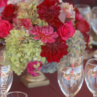 Flowers & Decor, red, green, Centerpieces, Flowers, Centerpiece, Nancy liu chin