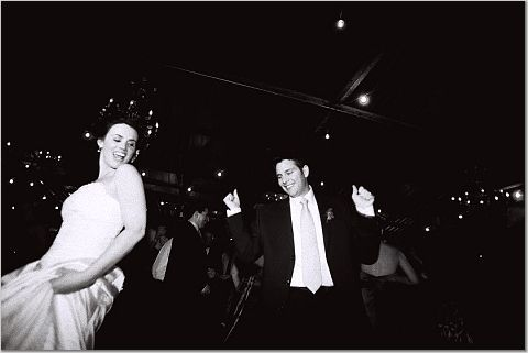 Bride, Groom, Dancing