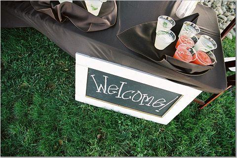 Welcome, Beverage