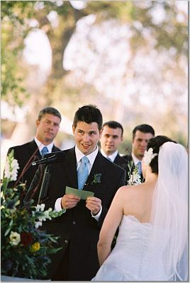 Ceremony, Flowers & Decor, Groom