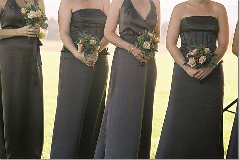 Flowers & Decor, Bridesmaids, Bridesmaids Dresses, Fashion, brown, Bride Bouquets, Bridesmaid Bouquets, Flowers, Bouquet, Flower Wedding Dresses