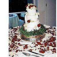 Flowers & Decor, Cakes, white, red, cake, Flowers, Cattails
