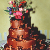 Cakes, brown, cake, Chocolate, Creative international pastries