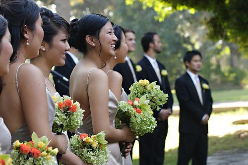 Flowers & Decor, Bridesmaids, Bridesmaids Dresses, Fashion, green, Bride Bouquets, Bridesmaid Bouquets, Flowers, Bouquet, Flower Wedding Dresses