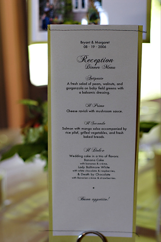 Reception, Flowers & Decor, green, Menu Cards, Menus
