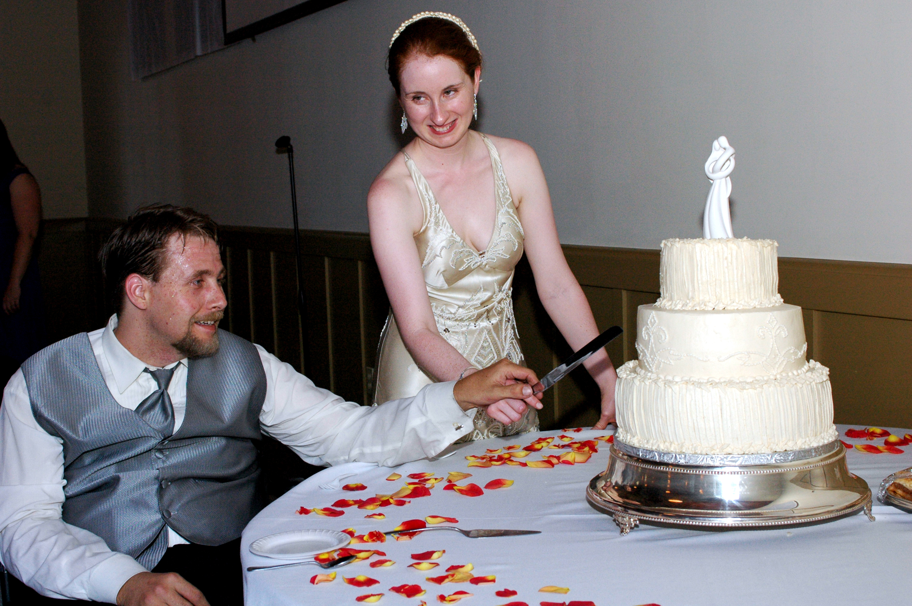 Cakes, orange, silver, cake