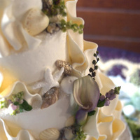 Cakes, cake, Beach, Beach Wedding Cakes, Shell, Branching out cakes
