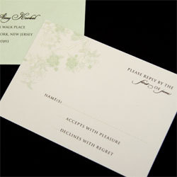 Stationery, green, Invitations, Oliostyle