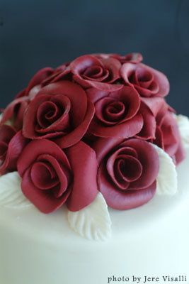 Cakes, red, cake, Rose, Branching out cakes