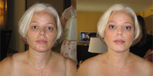 Beauty, Makeup, Hair, Touch of color - airbrush makeup artistry
